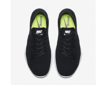 Nike Free TR Flyknit 2 Damen Trainingsschuhe Schwarz/Weiß/Schwarz 904658-001