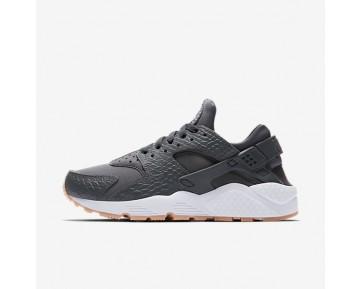 Nike Air Huarache SE Damen Schuhe Dunkelgrau/Gummi gelb/Weiß 859429-006