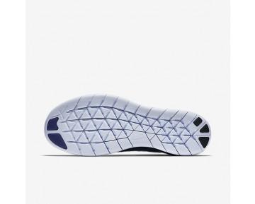 Nike Free RN Flyknit 2017 Herren Laufschuhe Ocean Fog/College Navy/Deep Royal Blau/Cirrus Blau 880843-404