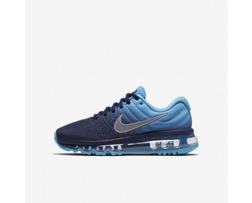 Nike Air Max 2017 Damen Laufschuhe Binary Blau/Chlorine Blau/Weiß 851622-401