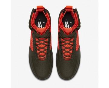 Nike SF Air Force 1 Mid QS Herren Schuhe Cargo Khaki/Cargo Khaki/Total Crimson AA7345-300