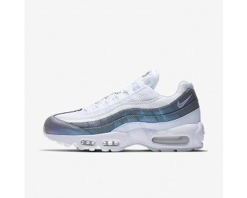 Nike Air Max 95 Premium Damen Schuhe Glacier Blau/Weiß/Stealth/Palest Violett 538416-401
