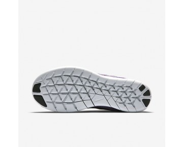 Nike Free RN 2017 Damen Laufschuhe Off-Weiß/Hot Punch/Chlorine Blau/Schwarz 880840-102