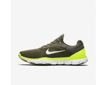 Nike Free Trainer V7 Herren Trainingsschuhe Medium Olive/Volt/Desert Moss/Weiß 898053-200