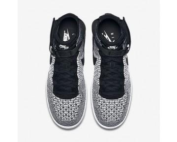 Nike Air Force 1 Ultra Flyknit Mid Herren Schuhe Schwarz/Weiß/Schwarz 817420-005