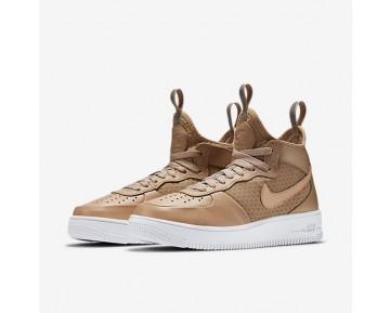 Nike Air Force 1 Ultraforce Mid Damen Schuhe Vachetta Tan/Weiß/Vachetta Tan 864025-200