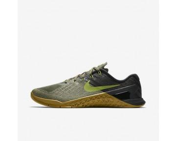 Nike Metcon 3 Herren Trainingsschuhe Medium Olive/Schwarz/Gum Medium Braun/Bright Cactus 852928-201