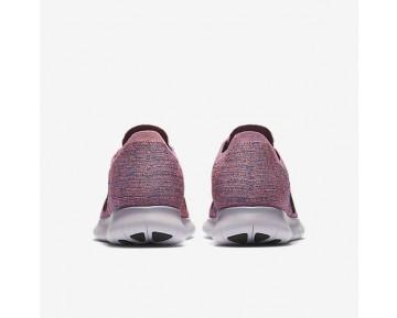 Nike Free RN Flyknit Damen Laufschuhe Violett Earth/Bright Mango/Hyper Turquoise/Schwarz 831070-504