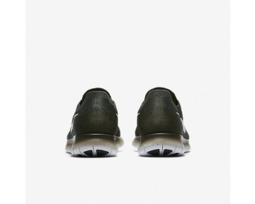 Nike Free RN Flyknit 2017 Herren Laufschuhe Vintage Grün/Sequoia/Reines Platin/Reines Platin 880843-300