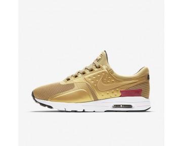 Nike Air Max Zero Unisex Schuhe Metallic Gold/Weiß/Schwarz/Varsity Rot 863700-700