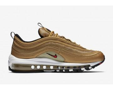 Nike Herren/Damen Air Max 97 OG Metallic Gold/Varsity Rot/Weiß