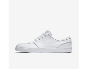 Nike SB Zoom Stefan Janoski Leather Herren Skateboard Schuhe Weiß/Wolf grau 616490-110