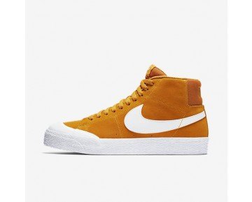 Nike SB Blazer Mid Xt Herren Skateboard Schuhe Circuit Orange/Gummi hellbraun/Weiß 876872-819