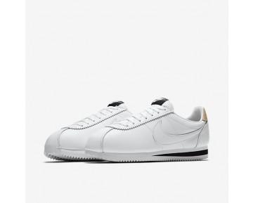 Nike Classic Cortez Leather SE Herren Schuhe Weiß/Schwarz/Vachetta Tan/Weiß 861535-101