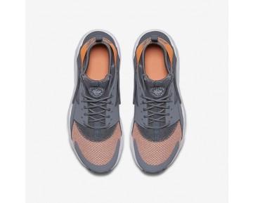 Nike Air Huarache Run Ultra Damen Schuhe Kaltes Grau/Reines Platin/Wolf grau/Orange 942122-001