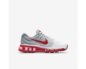 Nike Air Max 2017 Damen Laufschuhe Weiß/Wolf grau/Sport Rot 851622-101