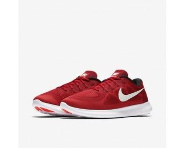 Nike Free RN 2017 Herren Laufschuhe Game Rot/Track Rot/Total Crimson/Off-Weiß 880839-601