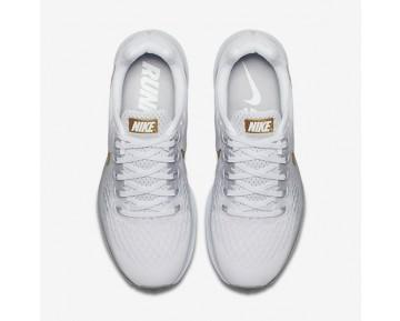 Nike Air Zoom Pegasus 34 Damen Laufschuhe Weiß/Wolf grau/Blau Tint/Metallic Rot Bronze 880560-108