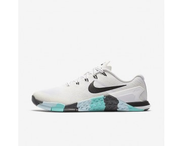 Nike Metcon 3 Damen Trainingsschuhe Weiß/Dunkelgrau/Aurora/Schwarz 849807-101