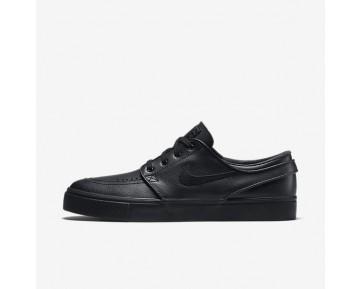 Nike SB Zoom Stefan Janoski Leather Herren Skateboard Schuhe Schwarz/Schwarz/Anthracite 616490-006