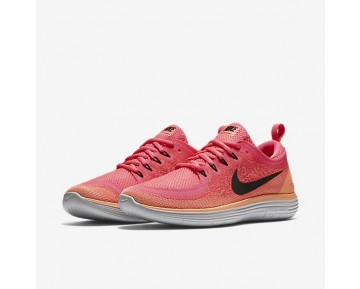 Nike Free RN Distance 2 Damen Laufschuhe Racer Rosa/Lava Glow/Hot Punch/Schwarz 863776-600