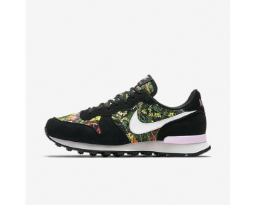 Nike Internationalist Premium Damen Schuhe Schwarz/Prism Rosa/Summit Weiß 828404-007