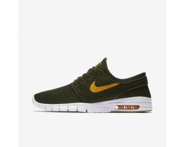 Nike SB Stefan Janoski Max Herren Skateboard Schuhe Sequoia/Gummi hellbraun/Circuit Orange 631303-389