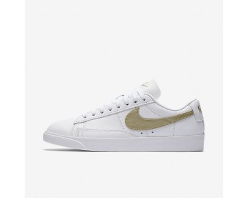 Nike Blazer Low LE Damen Schuhe Weiß/Weiß/Metallic Gold Star AA3961-103