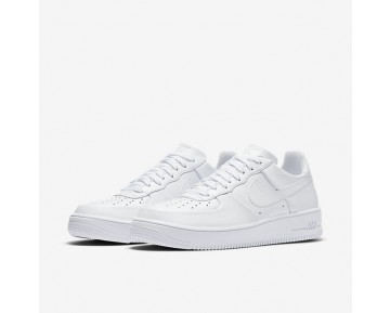 Nike Air Force 1 Ultraforce Leather Low Herren Schuhe Weiß/Weiß/Weiß 845052-100