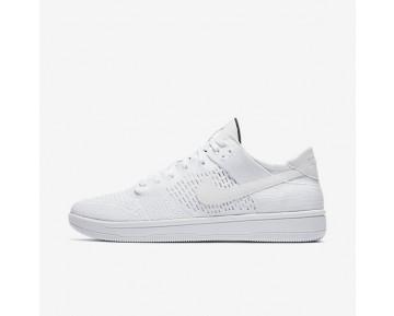 Nike Dunk Low Flyknit Herren Schuhe Weiß/Schwarz/Weiß 917746-101