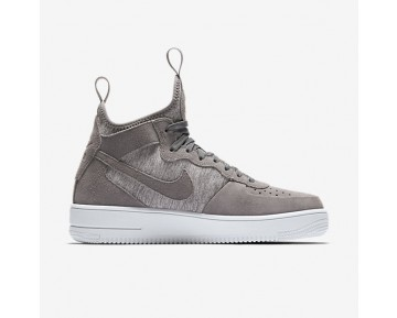 Nike Air Force 1 Ultraforce Mid Premium Herren Schuhe Kaltes Grau/Weiß 921126-003