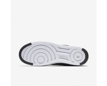 Nike Air Force 1 Ultra Flyknit Mid Herren Schuhe Schwarz/Weiß/Schwarz 817420-004