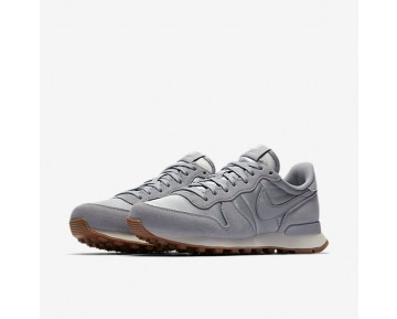 Nike Internationalist Damen Wolf grau/Sail/Gum Medium Braun 828407-018