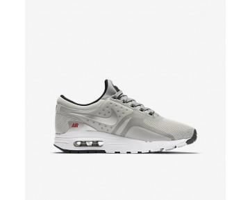 Nike Air Max Zero QS Damen Schuhe Metallic Silber/University Rot/Schwarz 921074-001