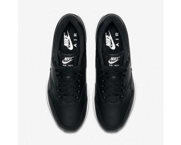 Nike Air Max 1 Premium SC Herren Schuhe Schwarz/Weiß/Reines Platin/Metallic Silber 918354-001