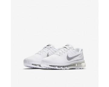 Nike Air Max 2017 Damen Laufschuhe Weiß/Metallic Silber 851622-100