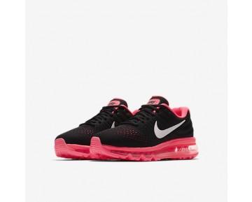 Nike Air Max 2017 Damen Laufschuhe Schwarz/Racer Rosa/Hot Punch/Weiß 851623-001