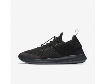 Nike Free RN Commuter 2017 Herren Laufschuhe Schwarz/Dunkelgrau/Anthracite 880841-001